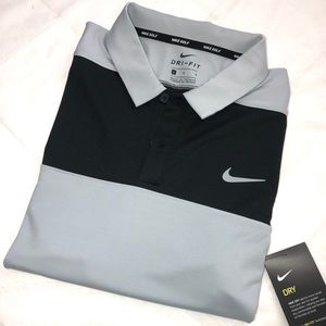 NWT Nike dri-fit Golf polo. (L)